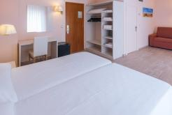 Family double room two beds GHT Hotel Balmes