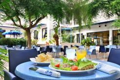 Terrasse de jardin GHT Hotel Balmes