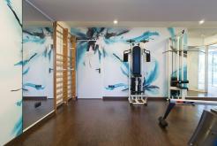 гимнастический зал Отель GHT Oasis Park Spa Льорет-де-Мар