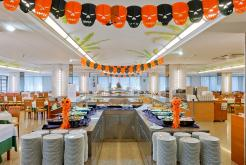 Restaurante buffet libre Hotel GHT Oasis Park Spa Lloret de Mar