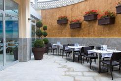 Terrassa Restaurant Hotel Oasis Tossa