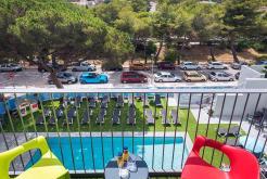 Habitación vista piscina GHT Hotel Sa Riera