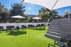 Jardín GHT Hotel Sa Riera